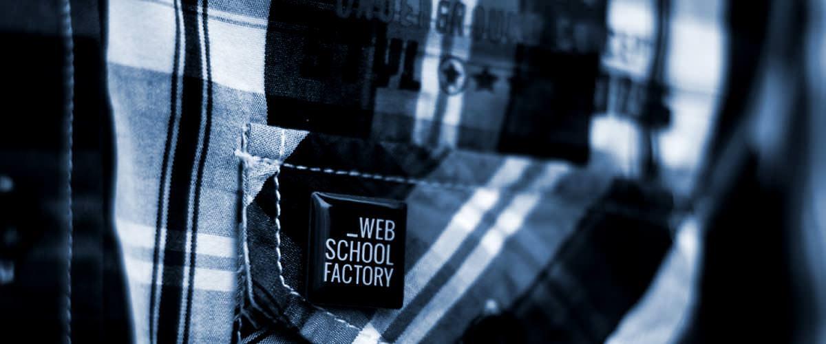 Pierre Cannet soutient la Web School Factory