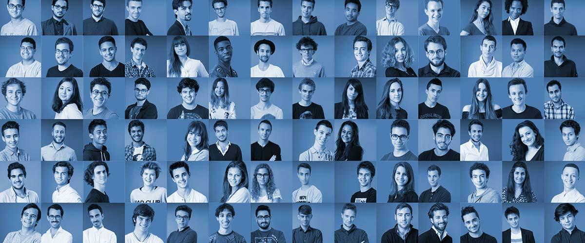 étudiants école web