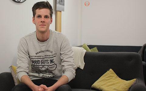 Guillaume Lechair etudiant entrepreneur