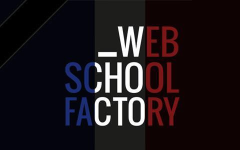 Réouverture école web school factory