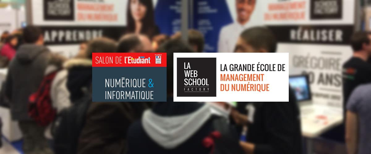 Salon l 39 etudiant num rique et informatique 2017 web for Salon etudiant 2017 paris