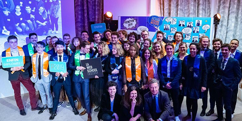 Diplomation étudiant promotion 2019