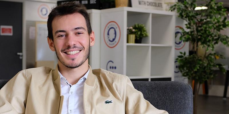 Guillaume Rémy Zephir étudiant à La Web School