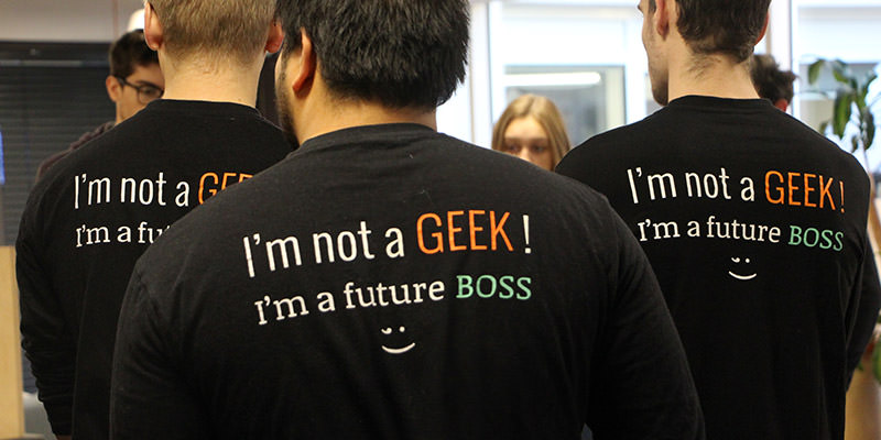 i am not a geek i am a future boss