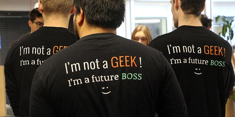 i am not a geek i am a future boss