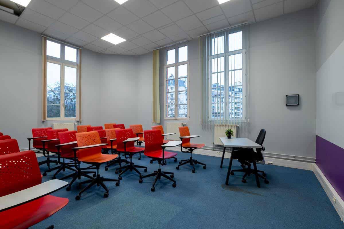 Salle de formation rue didot La Web School