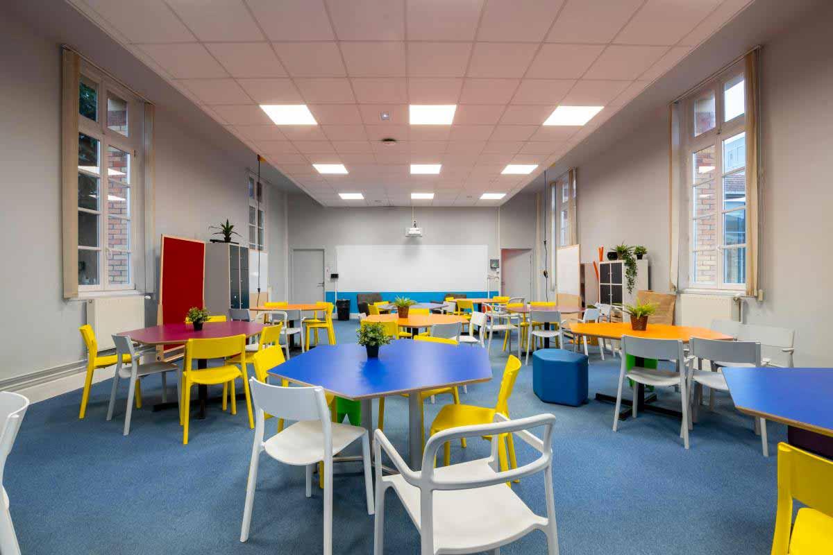 Salle de projet Rue didot La Web School