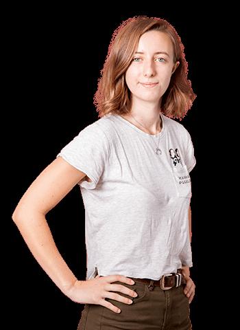 Léa Desbois, étudiante à la web school paris