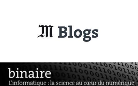 Blog LeMonde Binaire