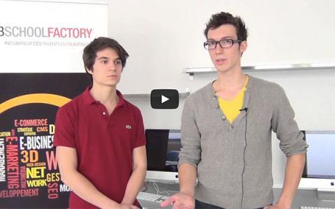 Journée découverte Web School Factory