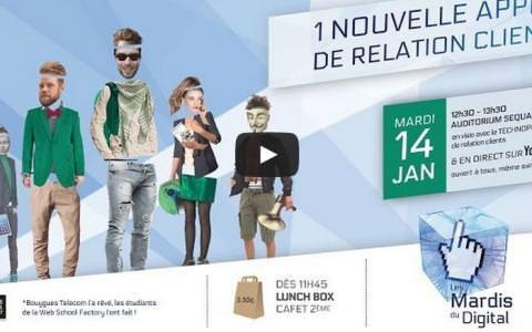 Factoriens pitchent devant Bouygues Telecom
