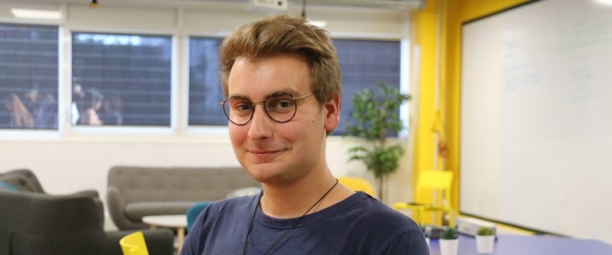 Portrait étudiant Vincent Curt
