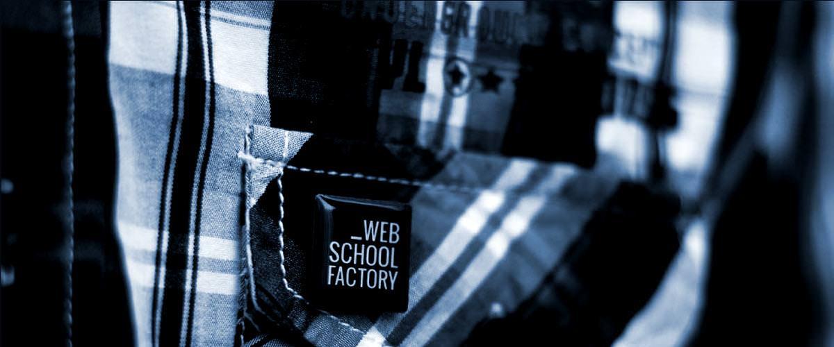 Web School Factory - Pins