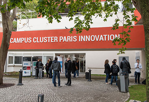 Entrée Campus Cluster Paris Innovation