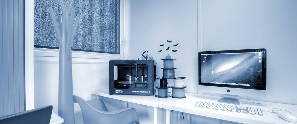 Objets connectés - Imprimante 3D