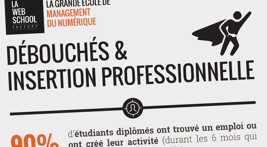 infographie insertion professionnelle